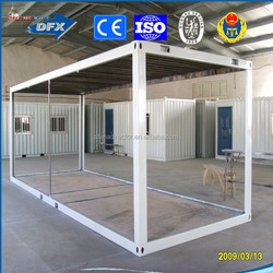 china modern design luxury 20ft 40ft movable container temporary home villa houses