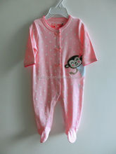 Best Selling 100% cotton comfortable baby romper, baby clothes