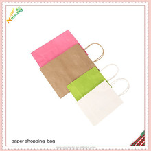 gift shopping promotion paper handle bag