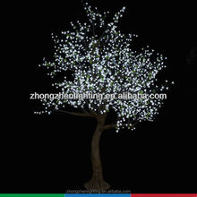 LED artificial peach blossom tree