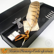 Supply for European market,European Owl Feather Pen