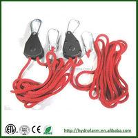 Hydroponics Reflector Hanger Adjustable Rope Ratchet Hangers/daihatsu hijet cargo