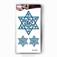 jewelry flash colorful temporary tattoo sticker B0162