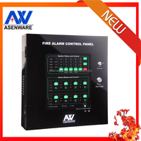 High quality Intelligent 1 Zone Conventional Fire Alarm Control Panel For Home Fire Alarm System