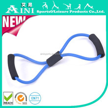 Fitness and Strength 8 Shape Resistance Chest Expander, Latex 8 Shape Resistance Band