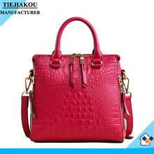 best selling women bag real crocodile handbags quality lady leather bag