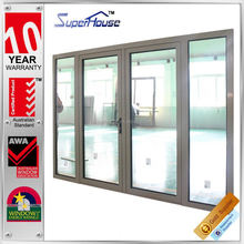 australia standard doors and windows Tempered safety glass aluminium removable doors
