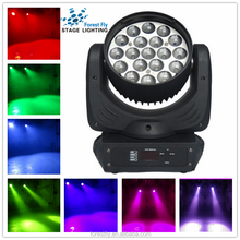 new stage lights led 19x15w zoom 4 in 1 osram moving head