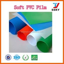 Plastic pvc roll white color transparent film for bag making