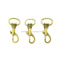 Custom Good Quality Metal Antique Brass Small Snap Hook