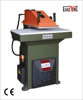 27T leather splitting machine/hydraulic swing arm rubber strip cutting machine with CE