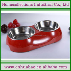 Double Bowl Feeding ,Perfect for Small Dogs and Cats, Includes Two High Quality Aluminum Food Bowls