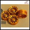 hot sale Rc wheel rim for CNC Machined 1:10 RC Aluminum Wheels for Car Offset On-road Drift Touring