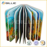 2015 New Fashion Children Thick Paper Book Printing
