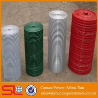 High quality aluminium grill mesh pvc coated bird cage welded wire mesh