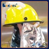 2015 China low price fire helmet with shield for sale