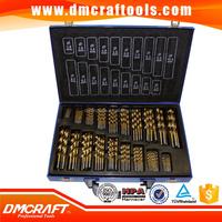 170 pc HSS Drill Bits Set 1-10mm 170pcs Quality Drill bits in Metal Case