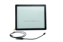 CJtouch waterproof IR touch screen monitor 17 inch super 17 tft lcd monitor for ATM/ POG game/ kiosks made in China