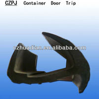 CZPJ-006 ISO J C type 11meters long EPDM rubber container door seal gasket