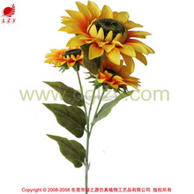 2015 new product silk flower artificial flower sunflower