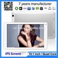 venta al por mayor pantalla IPS de 10 pulgadas mediados de tableta 1G / 16G construido en 3G ranura de la tarjeta SIM