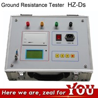 HZ-C Digital Earth Tester Price with Printer / Ground Test Grounding Resistant