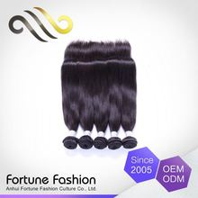 Specialized Produce Personalized Soft And Smooth Double Drawn Straight Indian Temple Hair Weft
