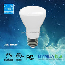 Hot selling LED bulb LED lamp R20, BR30, BR40 new smooth outer housing led bulb with UL, and energy star