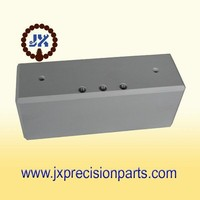 With the teeth sheath square in shaft connection piec high quality aluminium alloy CNC machine processing precision custom parts