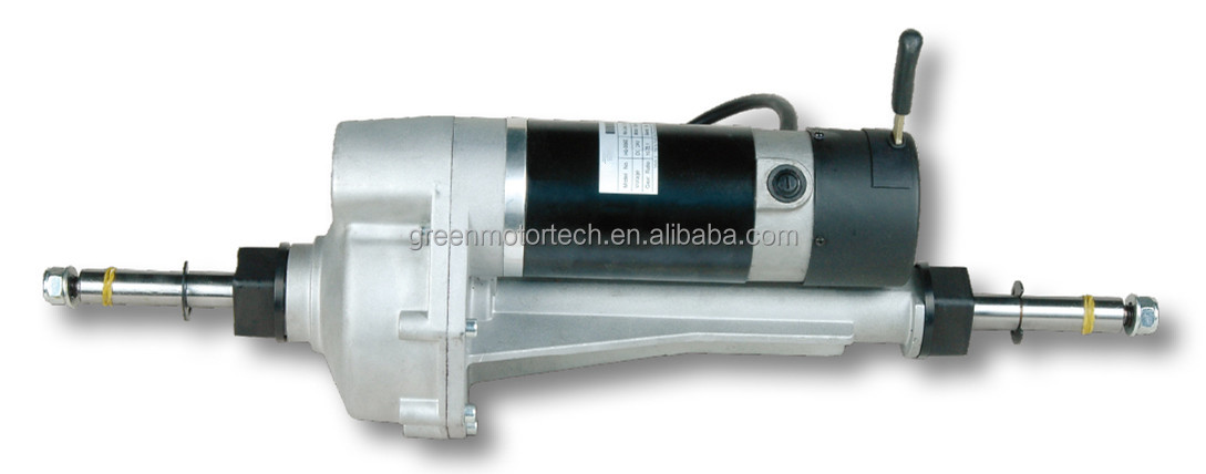 1kw 10kw Dc Motor 24v Dc Gear Motor Transaxle For Electric