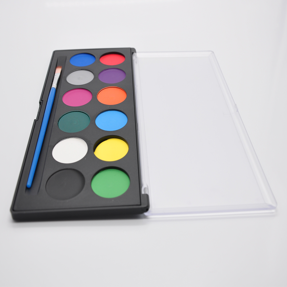 water based face painting palette professional 12 colors face paint