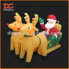Popular Large Happy Inflatable Christmas Decoration