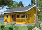Férias de lazer pequena cabana& praia casa de madeira pré-fabricada