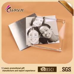 top quality popular design custom made acrylic plastic photo frame/acrylic picture frame /frame