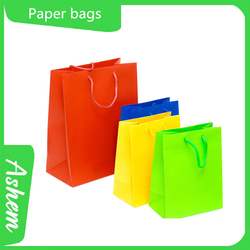 New arrival customized popular shopping bag with logo printing ,M-775
