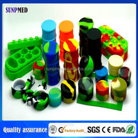 Chinese supplier new product silicone concentrate container for sale
