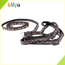 Wholesale pet dog accessory pet harness soft dog accessory ,retractable dog leash
