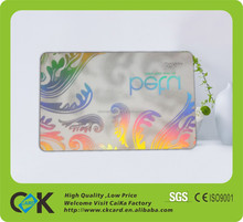Chinese elder factory supply high quality blank plastic card with cheap price