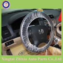 ZHIXIA-Professional PE disposable car seat cover/steer wheel cover used for many types of cars