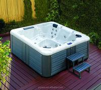 JOYSPA 6 people acrylic whirlpool free standing balboa bathtub hot tubs spas bath tub