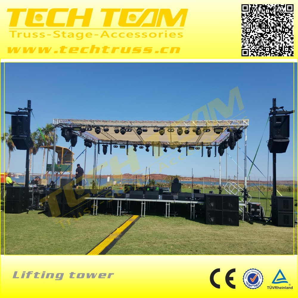 Portable Outdoor Stage Truss Design