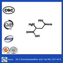 Top Quality 99.8% Purity Factory Supply Potassium Salt Cas 617-45-8 DL-Aspartic acid