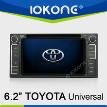 Car GPS system DVD player with radio tuner for Toyota universal HiLux / Innova 06-11 / Fortuner / Altis / Fj 200 / CROWN / RAV