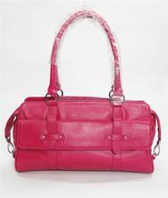 2015 latest design leather women handbag