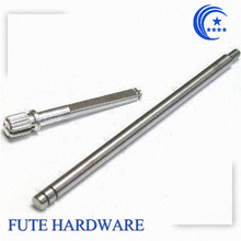 OEM doule and knurled stainless steel shaft/ pin