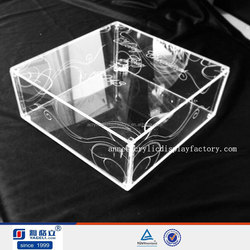 trade assurance supplier wholesale acrylic display case for sale