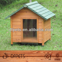 Beautiful Wooden Dog Kennel DFD3009