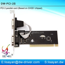 Factory direct sale Multi PCI serial port card