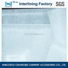 polyester fusible non woven fabric interlining(8012)