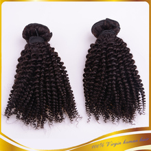 New Products on China Market 100 Human Hair Virgin Brazilian Hair Extension Unprocessed Brazilian Kinky curly